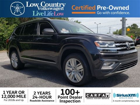 Certified Pre-Owned 2018 Volkswagen Atlas SEL Premium