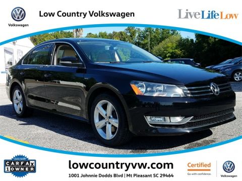 Certified Pre-Owned 2015 Volkswagen Passat 1.8T Limited Edition FWD 4D Sedan