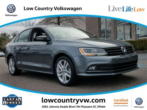 Certified Pre-Owned 2015 Volkswagen Jetta 1.8T SEL FWD 4D Sedan